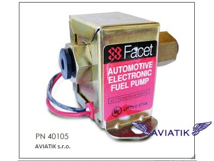 Elektrická palivová pumpa FACET  Palivová pumpa Facet