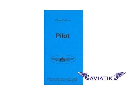 Zápisník pilota  Zápisník pilota