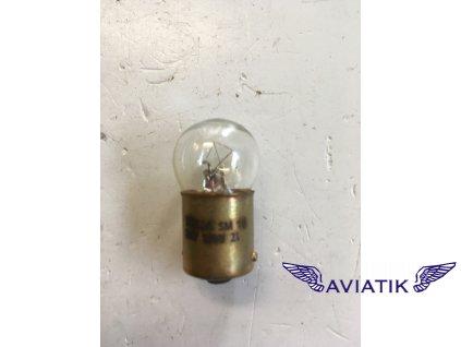 Letecká žárovka SM 15