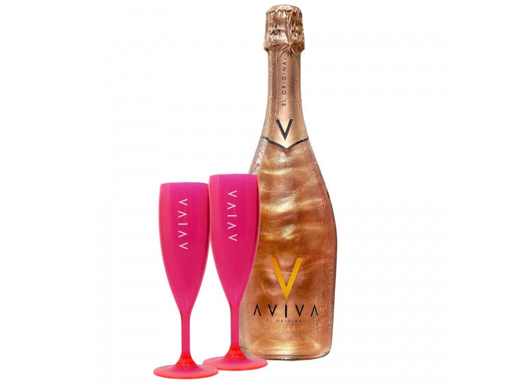 aviva pink gold 2