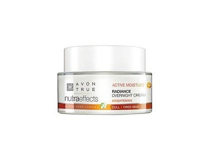 Avon True Nutraeffects Rozjasňující noční krém 50 ml