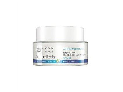 Avon True Nutraeffects Lehký hydratační noční gelový krém 50 ml