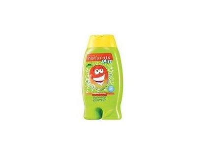 Avon Jemný sprchový gel a pěna do koupele 2 v 1 s mangem Naturals Kids 250 ml