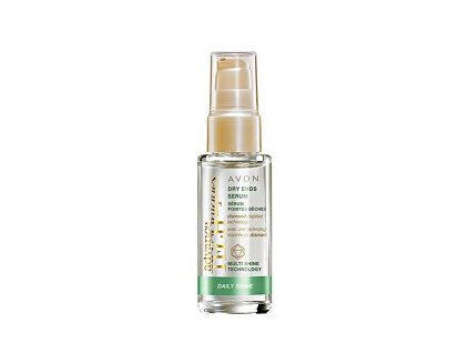 Avon Advance Techniques Daily Shine Sérum na suché konečky vlasů 30 ml