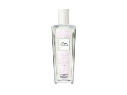 Avon Rare Pearls parfémovaný tělový sprej ve skleněném flakónu 75 ml
