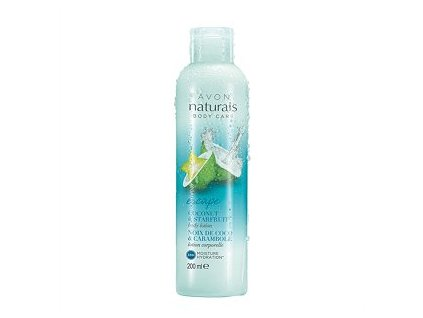 Avon Naturals Hydratační tělové mléko s kokosem a karambolou 200 ml
