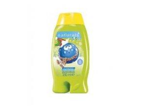 Avon Jemný sprchový gel a pěna do koupele 2 v 1 s lesním ovocem Naturals Kids 250 ml