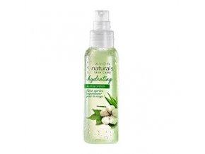 Avon Naturals Hydratační pleťový sprej s aloe a bavlnou 100 ml