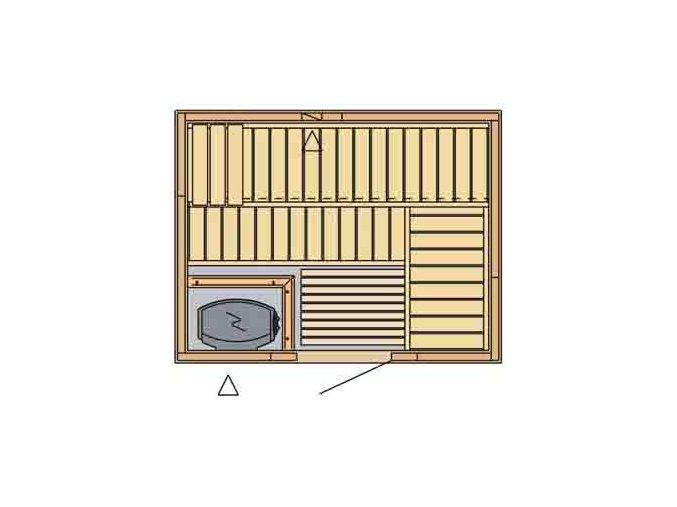 sauna 2017 rozvrzeni