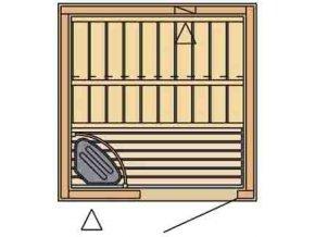 sauna 1212 rozvrzeni