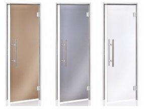 alu premium parni dvere bronzove sede cire