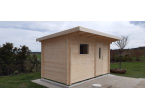Roubená sauna 341 x 230