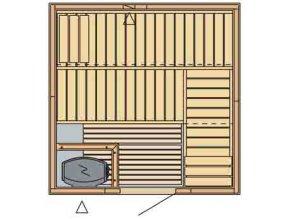 sauna 2020 rozvrzeni