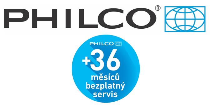 Philco + 36 měsíců servis