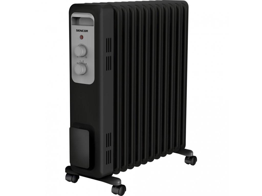 Olejový radiátor SENCOR SOH 3211BK