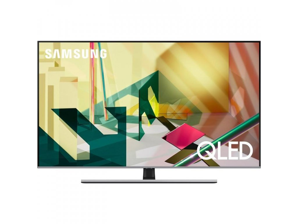 Televize Samsung QE75Q77TA stříbrná