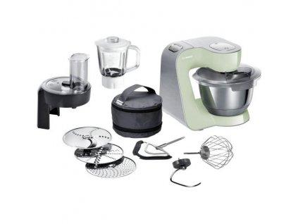 Kuchyňský robot Bosch CreationLine Premium MUM58MG60 zelený