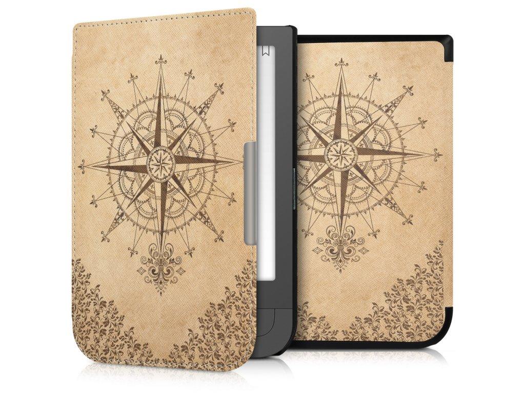 pouzdro obal kw barokni kompas pocketbook touch hd2 f01
