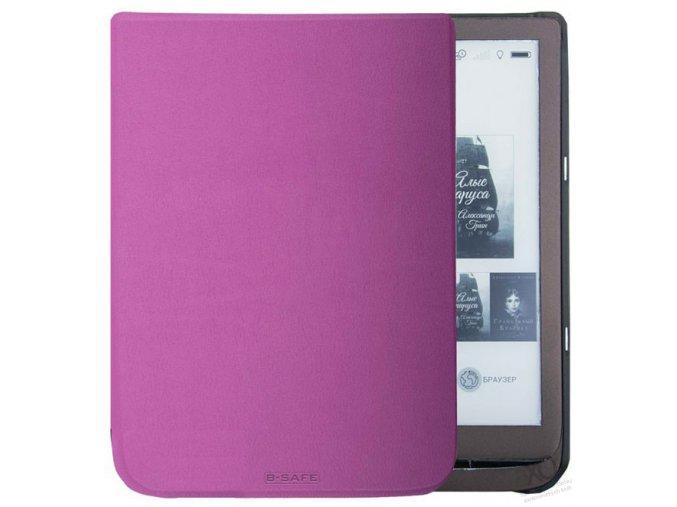 pouzdro obal bsafe pocketbook inkpad 3 740 fialove f1