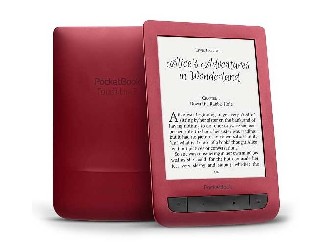 pocketbook touch lux 3 red