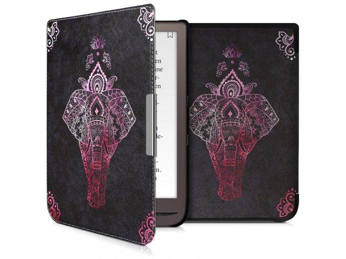 pouzdro obal pocketbook inkpad3 indicky slon f1