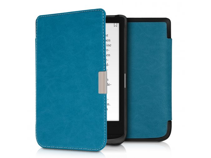 pouzdro obal pocketbook touch lux4 hd3 627 616 632 tyrkys f1