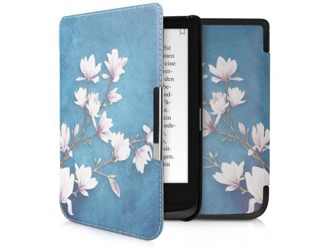 pouzdro obal pocketbook touch lux4 hd3 627 616 632 magnolie f1