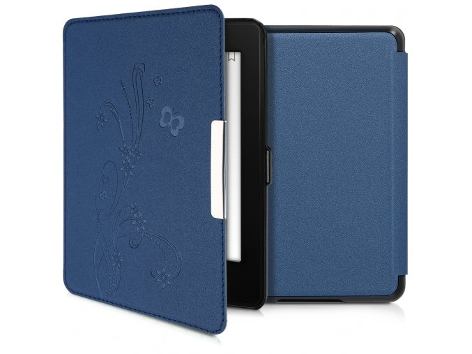 pouzdro obal amazon kindle paperwhite wine modre f1