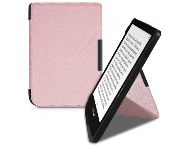 pouzdro obal pocketbook touch lux 4 basic lux 2 touch hd 3 rosegold f1