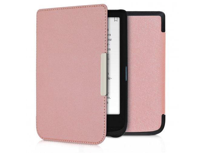 obal pouzdro pocketbook touch lux 4 basic lux 2 touch hd 3 632 rosegold f1
