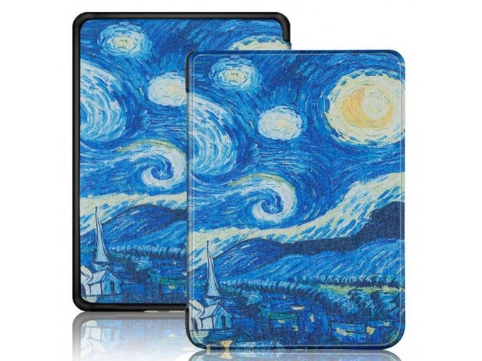 pouzdro obal bsafe amazon kindle 2019 gogh f1