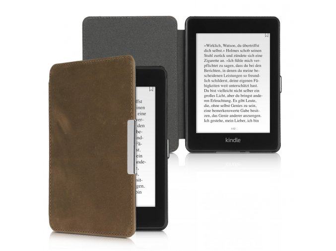 pouzdro obal kw amazon kindle paperwhite4 calibri prava kuze hnede f1