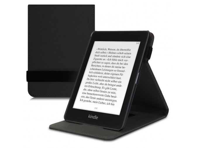 pouzdro obal kw flip amazon kindle paperwhite4 cerne f1