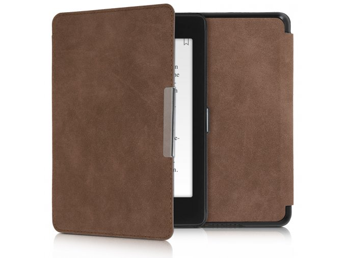 pouzdro obal kw hardcover amazon kindle paperwhite4 hnede f1
