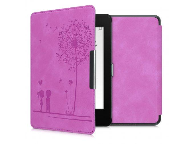 pouzdro obal nubuck love pink amazon kindle paperwhite4 f1