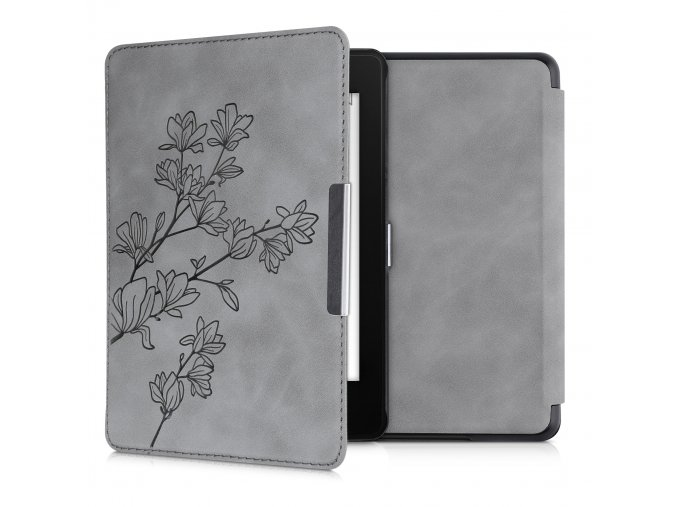 pouzdro obal hardcover magnolia grey nubuck amazon kindle paperwhite4 f1