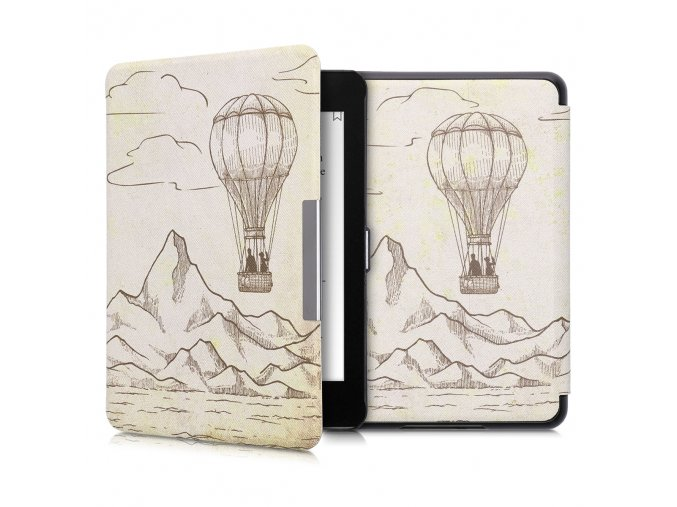 obal pouzdro kw hardcover vzduchoplavec amazon kindle paperwhite4 f1