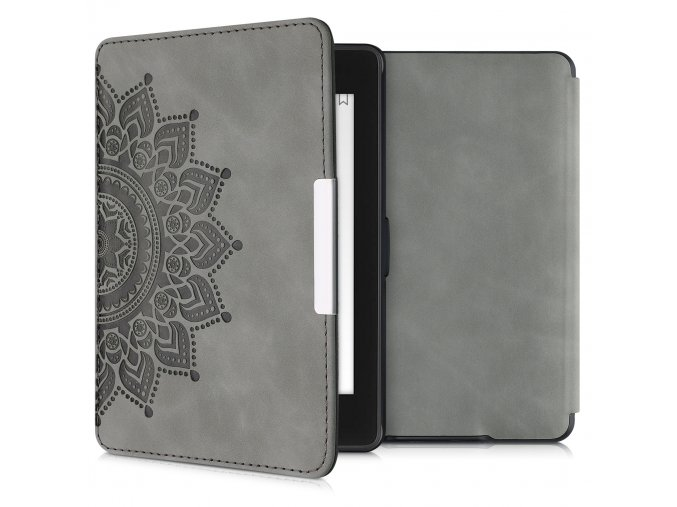 pouzdro obal hardcover nubuck mandala amazon kindle paperwhite1 2 3 f1
