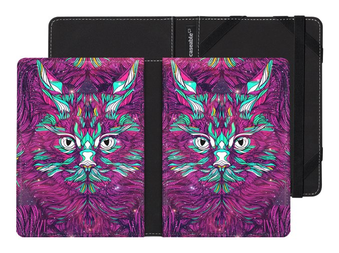 caseable space cat pouzdro obal kindle amazon paperwhite