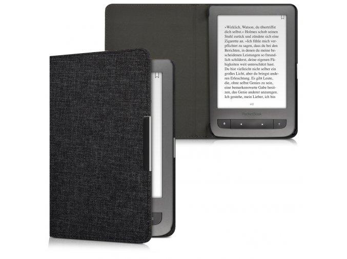 pouzdro obal latkove cerne pocketbook touch lux 3 626 f01