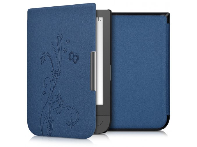 pouzdro obal kw wine blue pocketbook touch hd 631 f01
