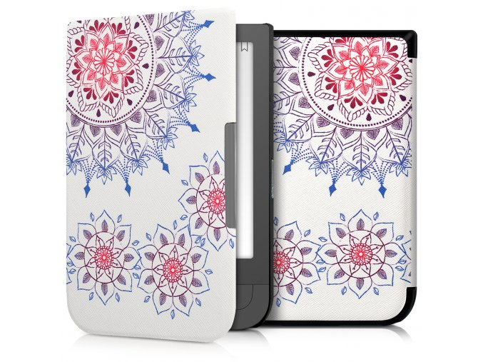 pouzdro obal kw vintage flowers pocketbook touch hd 631 f0