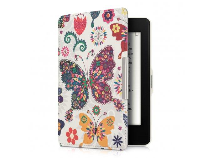 obal pouzdro amazon kindle paperwhite motyli kvetiny 01