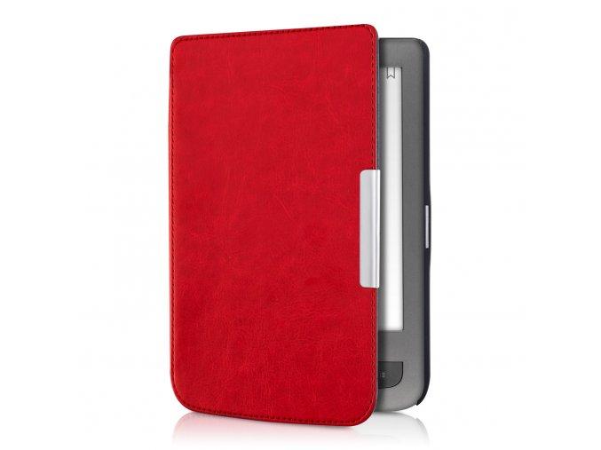 pouzdro obal pocketbook touch lux 3 626 cervene 011