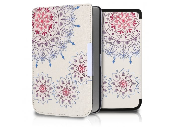pouzdro kw vintage flowers pocketbook lux 1