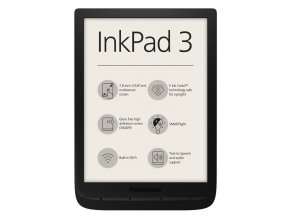 ebook ctecka pocketbook 740 inkpad 3 cerny
