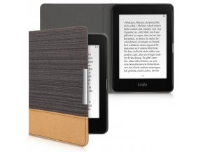 pouzdro obal kw amazon kindle paperwhite4 2018 duo sedo hnede f1