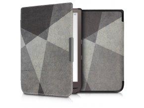 pouzdro obal hardcover grey overlay pocketbook inkpad3 740 f1