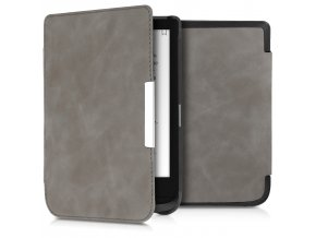 pouzdro obal flip pocketbook touch lux 4 basic lux 2 touch hd 3 kuze nubuck 632 616 627 f1