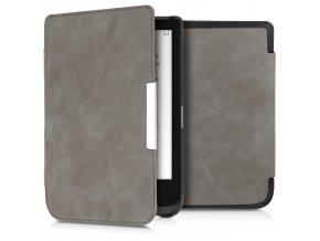 pouzdro obal flip pocketbook touch lux 4 basic lux 2 touch hd 3 kuze nubuck 632 616 627 f1